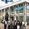 """Die kubanische Delegation auf dem von Cuba Sí organisierten Solidaritätskongress """"Kubanisch-europäische Perspektiven"""" im Juni 2001 in Berlin."""
