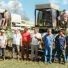 Cuba Sí kaufte drei Maschinen für die Sojaernte im Projekt Valle de Perú (1996 - 1997).