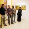 Der kubanische Maler Adrian Rumbaut stellte 2009 auf Einladung von Cuba Sí seine Werke in Berlin aus.