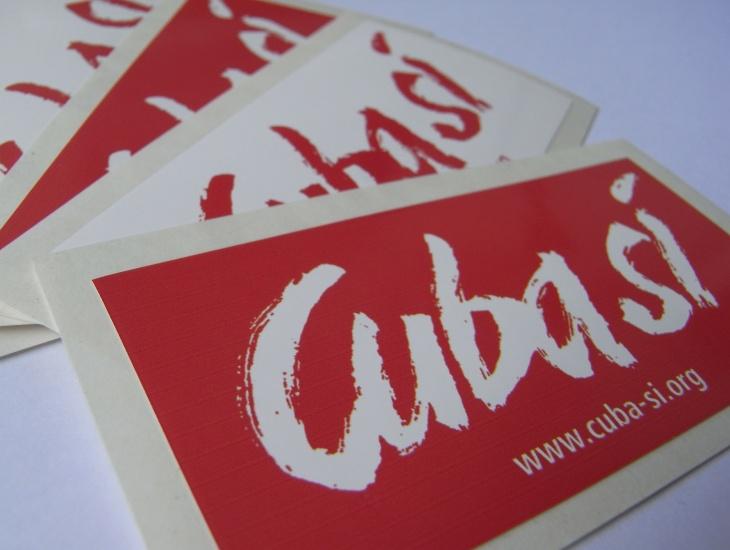 Cuba Sí - Aufkleber