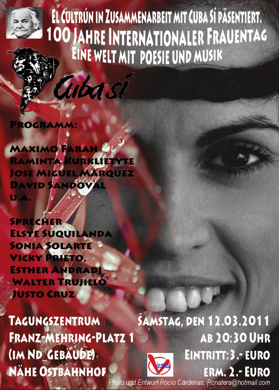 Veranstaltung Zum Internationalen Frauentag Cuba Sí