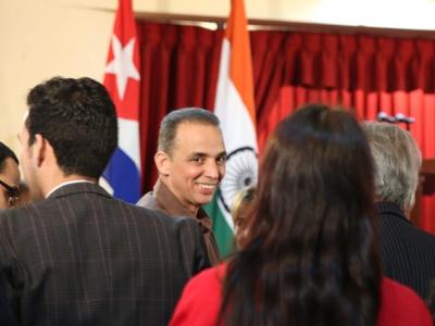 Antonio Guerrero während der Eröffnungsveranstaltung