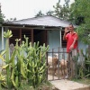 Saniertes Wohnhaus im Projekt Guantánamo