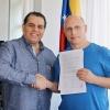 Unterschriftenaktion für Venezuela und Brasilien