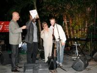 Szene auf der Bühne während der Veranstaltung