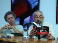 Leonardo Padura liest aus seinem Buch