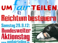 Demonstration in Berlin ab 11:30 Uhr, Potsdamer Platz