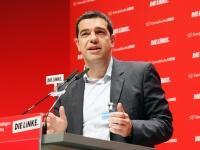 Alexis Tsipras, Spitzenkandidat der Europäischen Linken: Europa soll seinen Völk