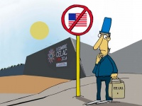 Neues Selbstbewusstsein in Lateinamerika (Karikatur: Juventud Rebelde, Kuba)