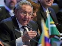 Raul Castro bei seiner Rede während des OAS-Gipfels am 11. April 2015 in Panama.