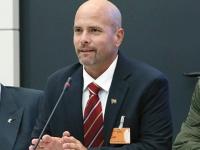 Gerardo im Bundestag bei der Linksfraktion