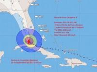 """Hurrikan """"Irma"""" hat in Kuba große Schäden angerichtet."""