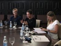 Dietmar Bartsch und Źaklin Nastić in Kuba